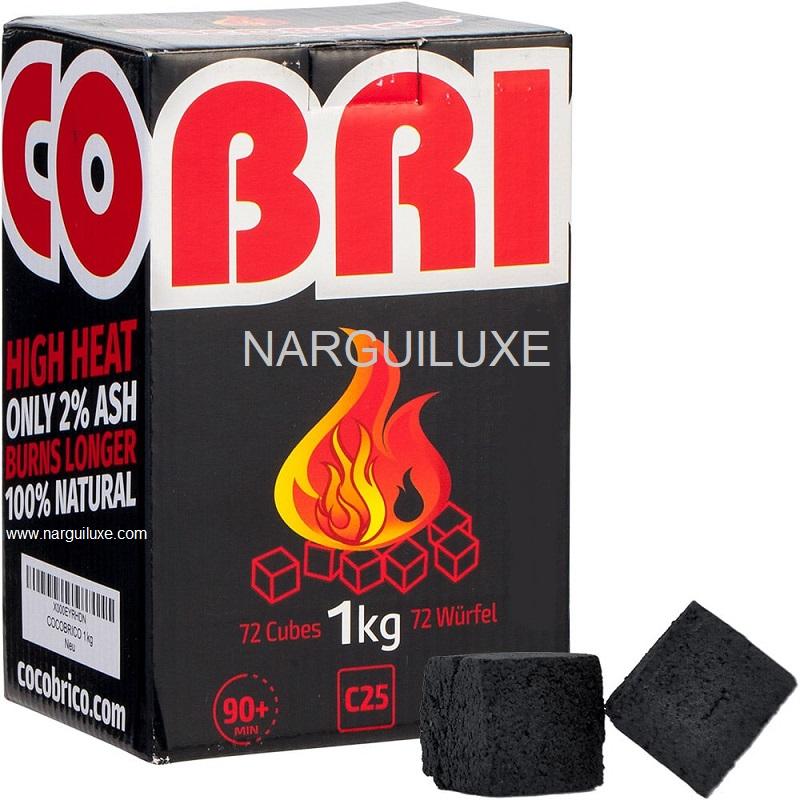 CHARBON NATUREL COCOBRICO cocobrico 1 kilo c25 narguiluxe.com
