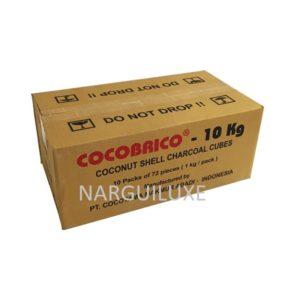 Charbon naturel cocobrico 10kg pas cher