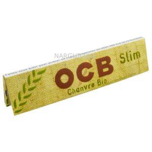OCB Slim BIO CHANVRE NARGUILUXE.COM