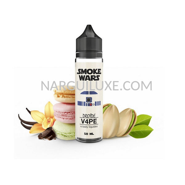 Droïde-V4pe-50- ml-Smoke-Wars-narguiluxe
