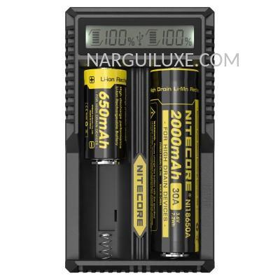 Chargeur-batterie-Nitecore-UM20-narguiluxe.com