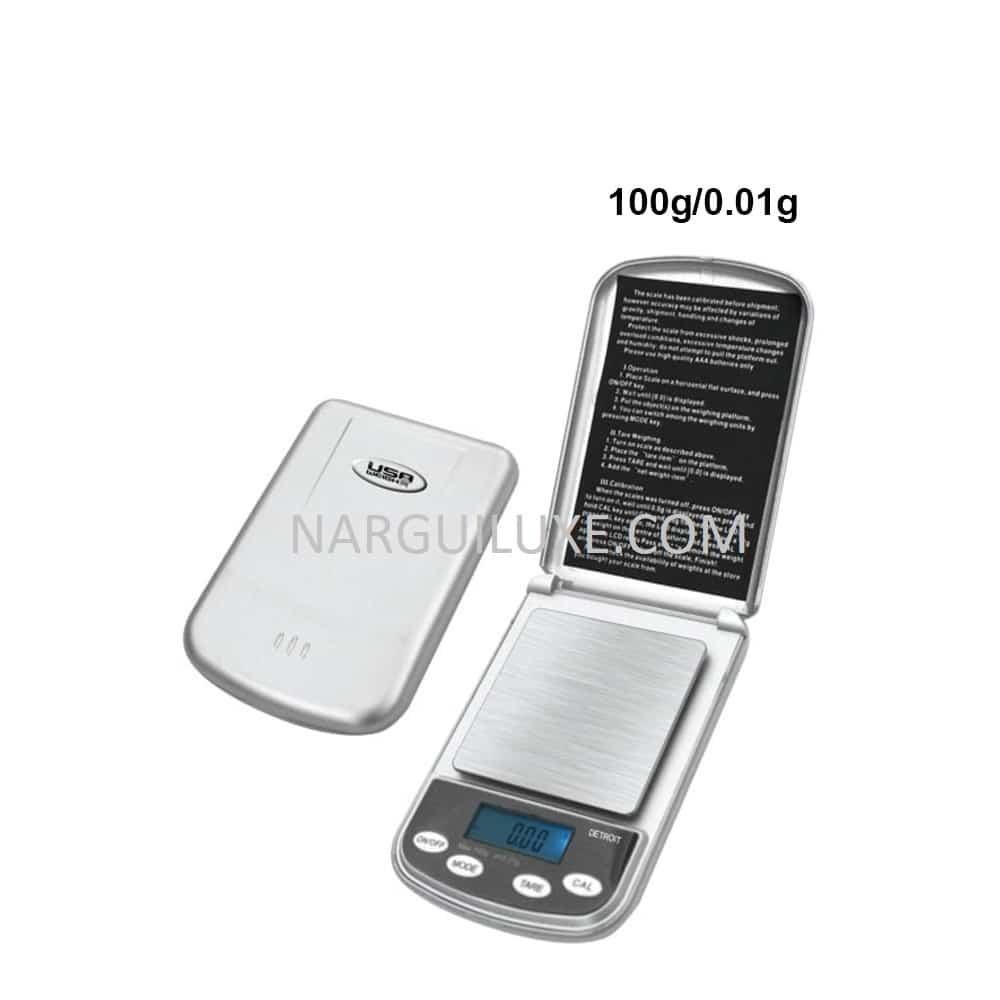 USA Weight Detroit digital scale 100g - 0.01g