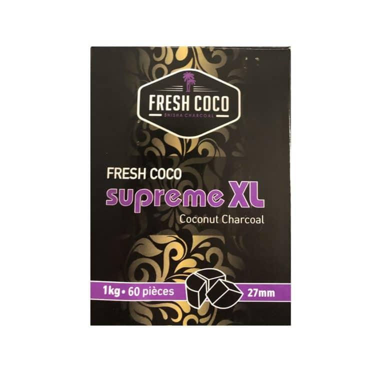 Charbon naturel Fresh Coco Suprême XL 1 kg