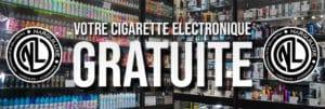 E-cigarette gratuite