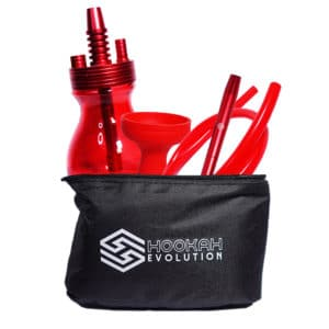 Hookah Evolution Traveler Rouge Sacoche